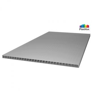 Сотовый поликарбонат ULTRAMARIN серебро 2100х6000х4мм