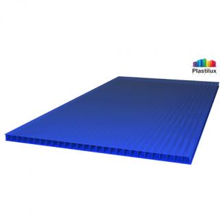 Сотовый поликарбонат ULTRAMARIN синий 2100х12000х6мм