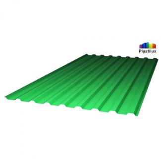 Прозрачный шифер стандарт МП-20 (У) зелёный 1,15х2м