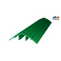 Профиль для поликарбоната ROYALPLAST HCP-U крышка зелёный 4-10мм 6000мм
