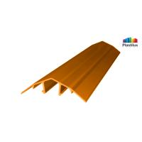 Поликарбонатный профиль ROYALPLAST HCP-U крышка оранжевый 4-10мм 6000мм