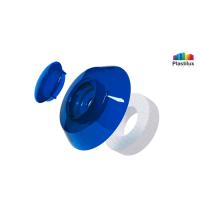 Термошайба для поликарбоната УП500 синий D=40мм