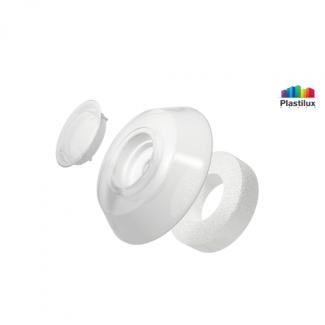 Термошайба для поликарбоната УП1000 белый-матовый D=40мм