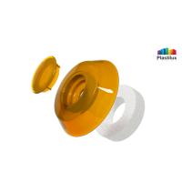 Термошайба для поликарбоната УП1000 оранжевый D=40мм