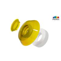 Термошайба для поликарбоната УП1000 жёлтый D=40мм